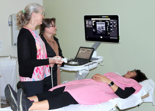 Northlanders benefit from new breast diagnostic ultrasound machine