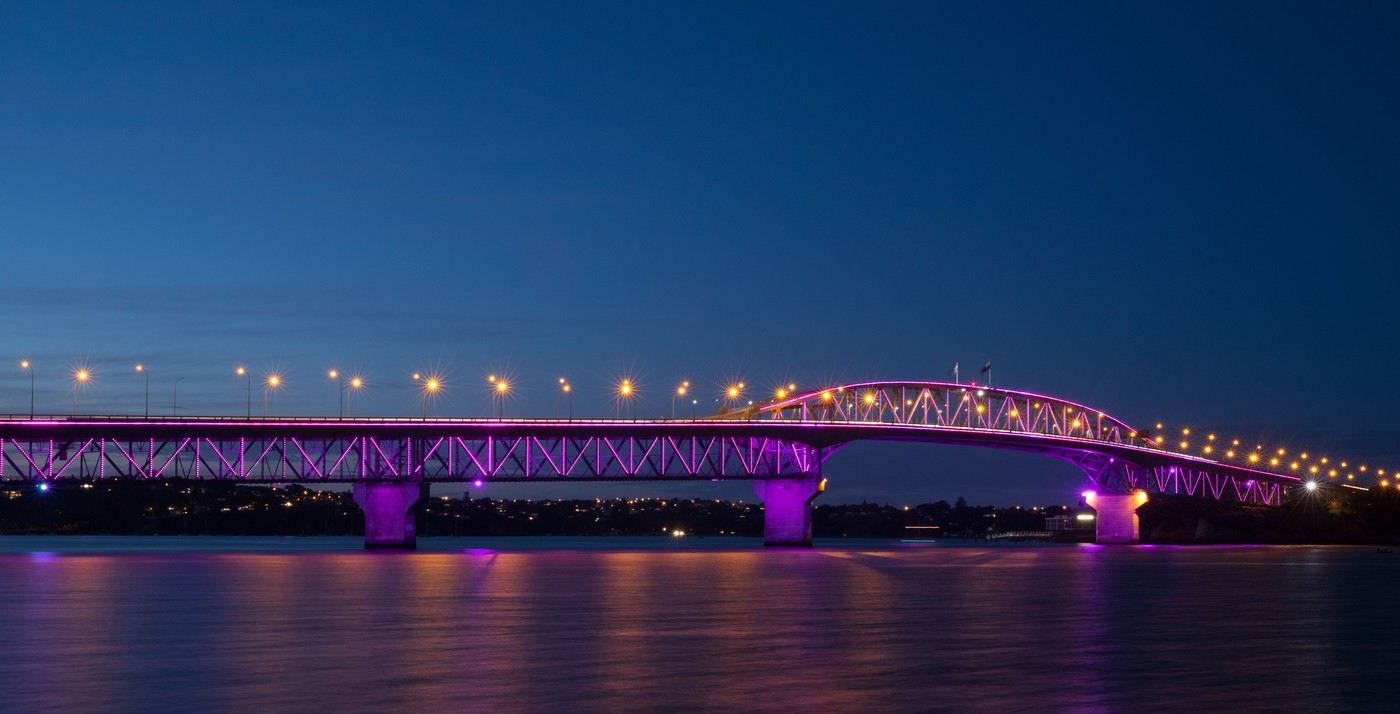Auckland turns pink to support Breast Cancer Awareness Month