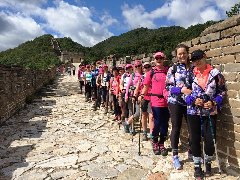 Pink Ribbon Great Wall Trek